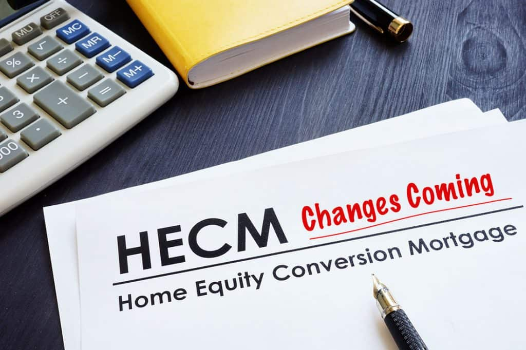 Changes To HECM Appraisals
