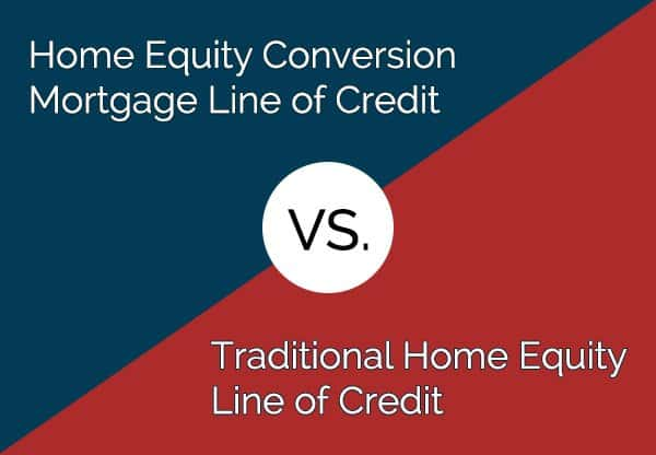 HECM vs. Traditional Home Equity