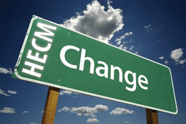 New Changes to HECM Reverse Mortgage Program